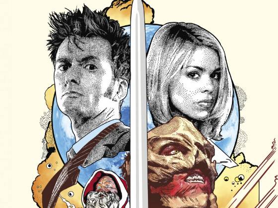 Doctor Who: The Christmas Invasion - Target Cover