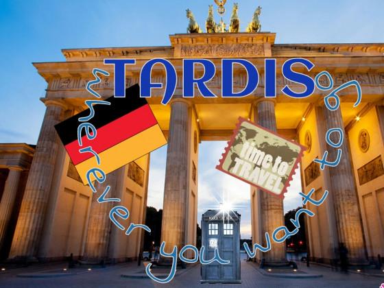 Die Tardis in Berlin