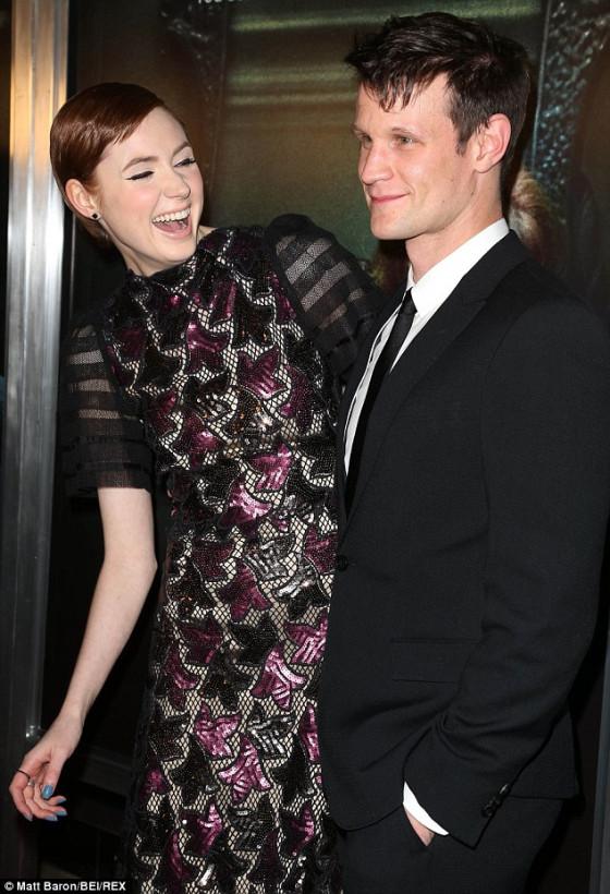 Karen & Matt Occulus Premiere April 2014
