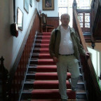 auf der Treppe on location