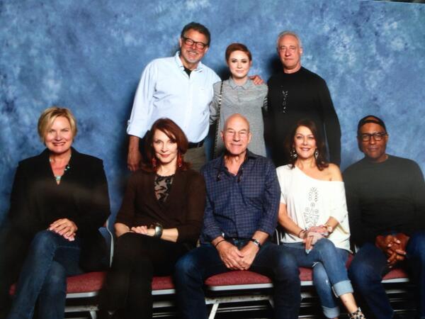 Karen Gillan and the Star Trek: TNG Crew @ Salt Lake City Comic Con April 2014