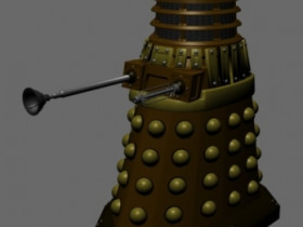 Blender-Dalek, Zwischenstand