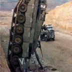 Panzer-Kopfstand