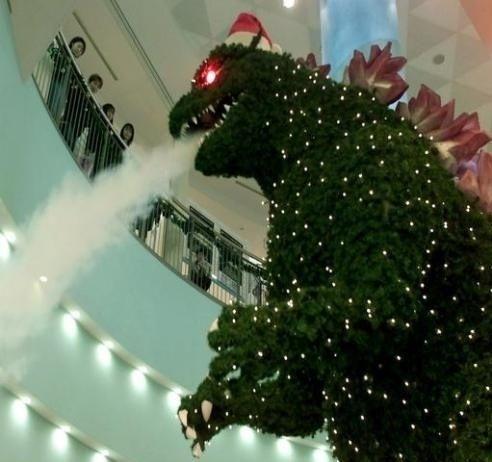 Godzilla Weihnachten