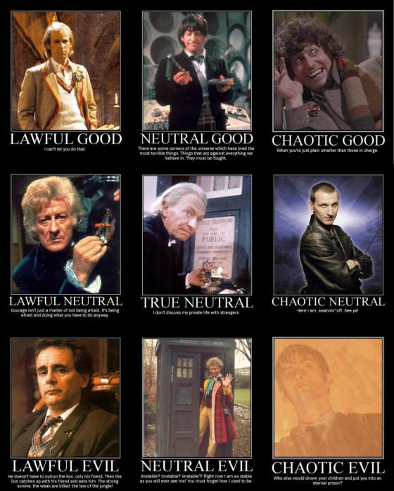 Doctor Who Alingment D&D