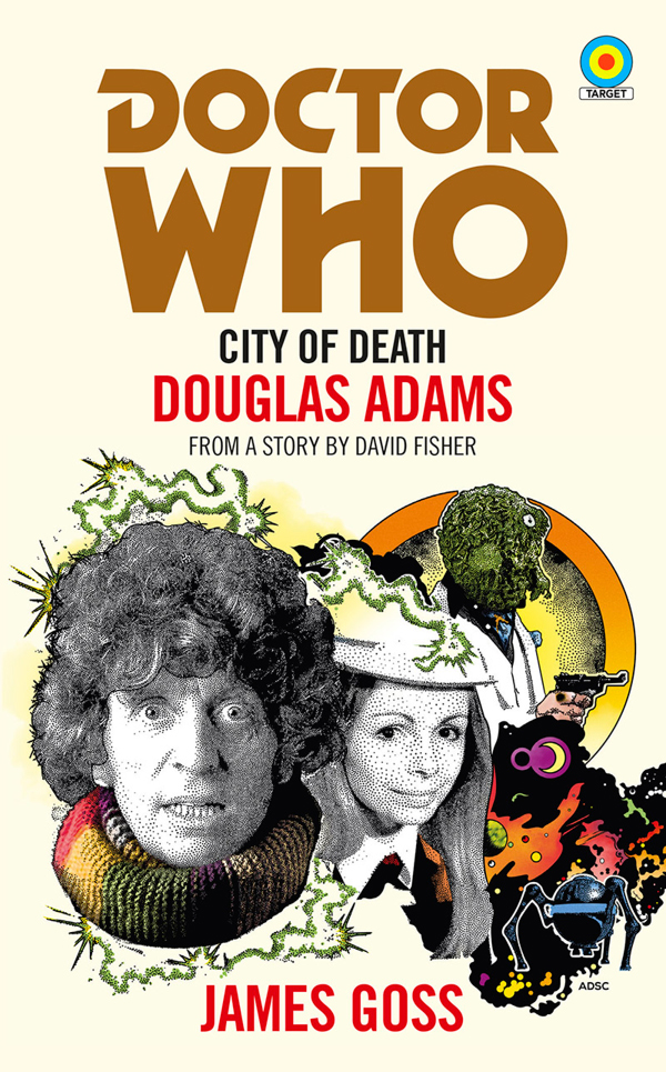 Doctor Who: City of Death - Target Cover