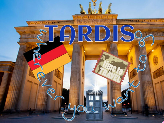 Die Tardis in Berlin